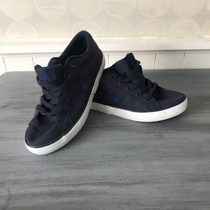 Youth Size 3 Polo Low Top Brayden sneakers